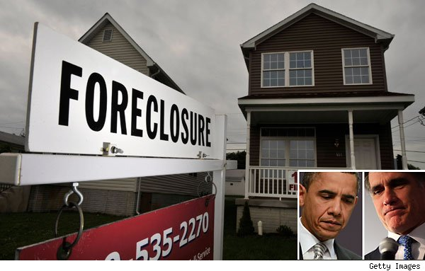 Obama and Romney - Housing Crisis During Debates 2012