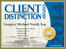 2014 Client Satisfaction Award