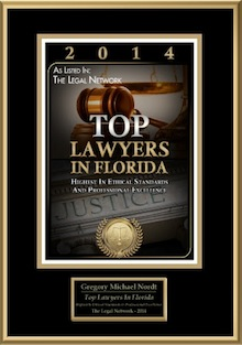 2014 Top Foreclosure Lawyer in Florida