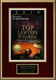 2016 Top Foreclosure Lawyer in Florida