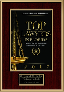 2017 Top Foreclosure Lawyer in Florida