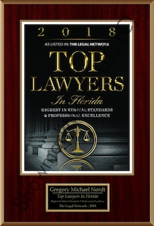 2018 Top Foreclosure Lawyer in Florida